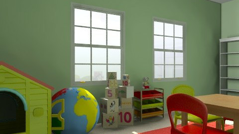 Bright playroom - Kids room - by paige0806