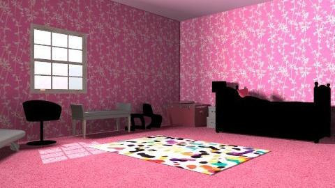 princess room - Glamour - Bedroom - by slclovesdogs