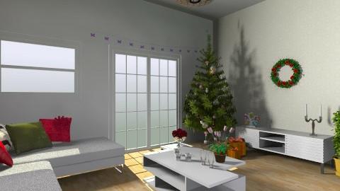 Ftr Living Room Christmas - Modern - Living room - by yellowsubmarine