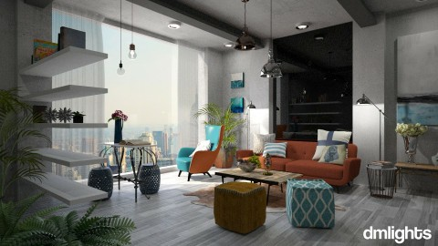 Moodboard Inspired - Living room - by DMLights-user-997613