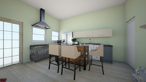 Family Kitchen  - Eclectic - Kitchen - by avacodo