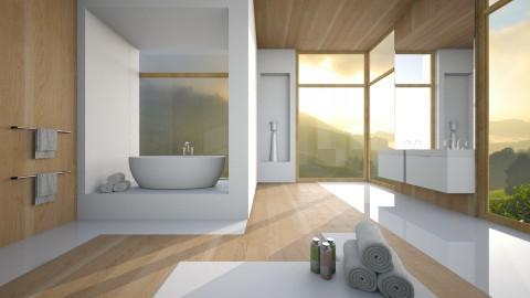 bathroom  - by Senia N