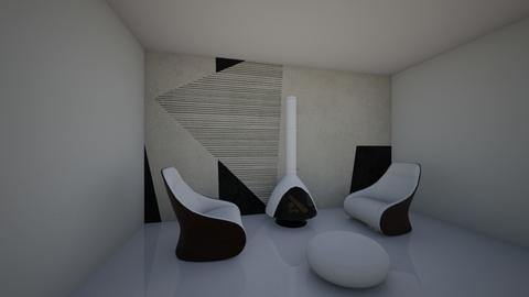 sheep living room - by danamoroianu