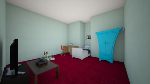 Teenage Bedroom - Bedroom - by cranktopus
