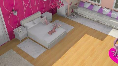 Ella's Room -összkép2 - Classic - Kids room - by Audrey17
