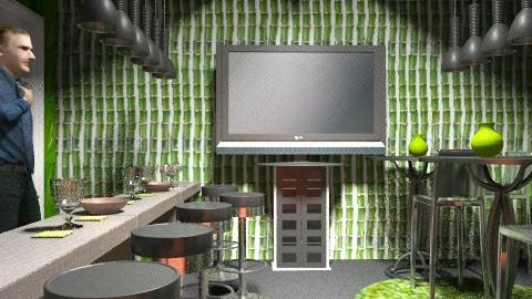 green pub  - Modern - by nithiaChackochen