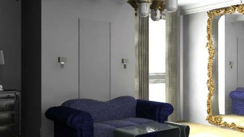 Azul marino - Bedroom - by mine8ag