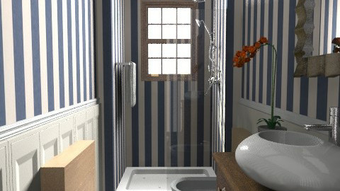OrangeOrchid - Glamour - Bathroom - by limina88