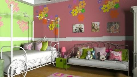 SDD - Classic - Kids room - by Cejovic Andrijana
