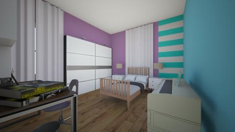 sol room - Bedroom - by sorangeld