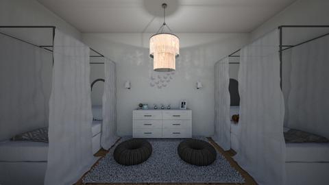 1 Twins Room  - Kids room - by BFactor
