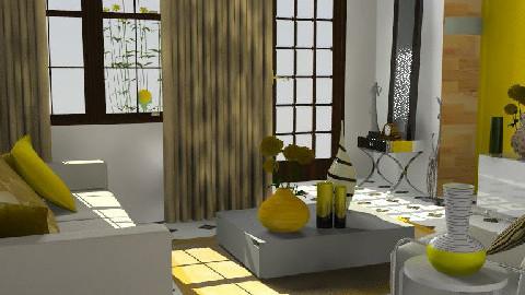 Simple Room - Living room - by Rudibr