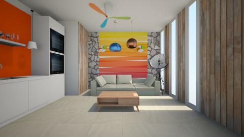 Burbone  - Living room - by Habib Altamimi