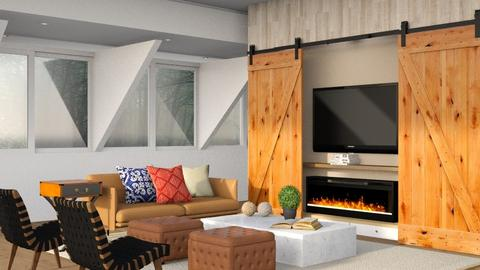 Texan Life - Modern - Living room - by Gurns