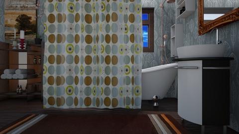 boho bath - Bathroom - by allday08