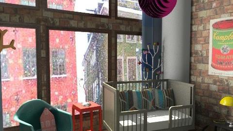 Liam's Loft Nursery - Modern - Kids room - by allysonrose