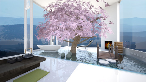 Japanese Inspired - Bathroom - by Anjess