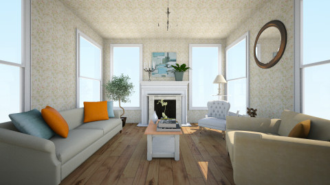 Simple living room design - Classic - Living room - by Purple Lemons