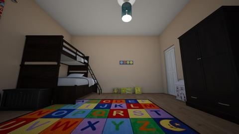 Kandis Kids Room 2 - Kids room - by Teacher Tita