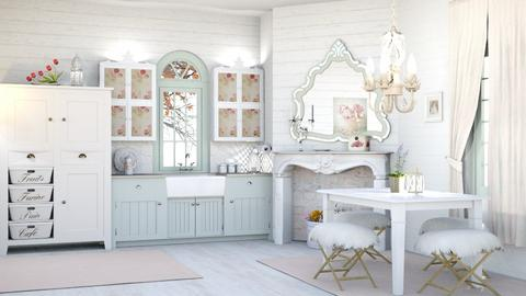 Shabby chique kitchen - by Bren123
