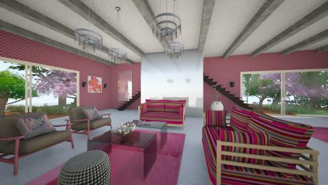 SVocCE - Retro - Living room - by Saj Trinaest