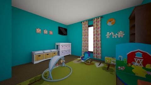 FCC Baby Room 002 - Kids room - by dbc1962