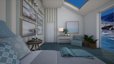 Frozen lake - Bedroom - by sissybee