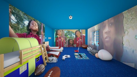 Boys Room  - Rustic - Kids room - by InteriorDesigner111