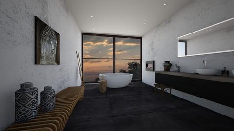 down to earth bathroom - Bathroom - by erladisgudmunds