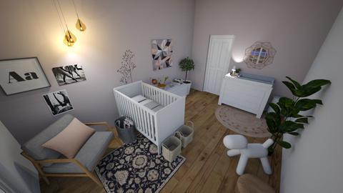 pink nursery - Kids room - by Lizzylou34