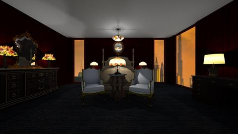 dubai nights - Bedroom - by tbeals