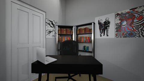 filming area and couch - Modern - Office - by jade1111