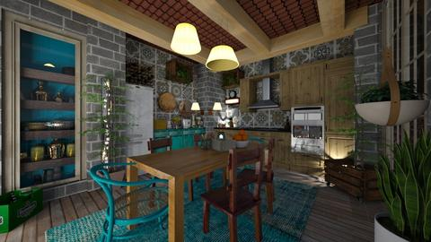 Kitchen 1 - Kitchen - by nanabpf