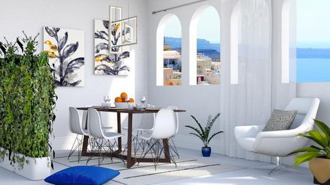 Greek Dining - Dining room - by millerfam