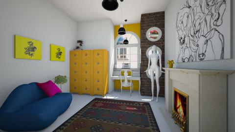 feminine artists office - Office - by trAnsu