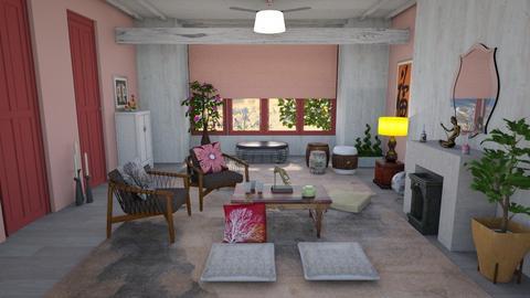 Template Baywindow Room - Global - Living room - by augustmoon