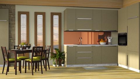Conlay Kitchen - Kitchen - by Twilight Tiger