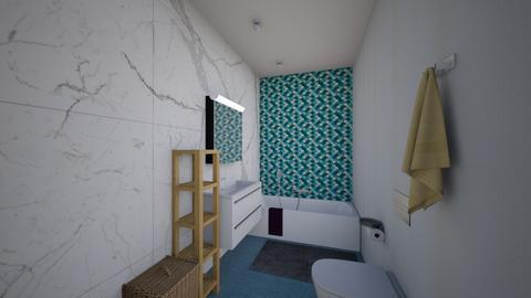 Mama Kalamkas - Dining room - by Zhannat