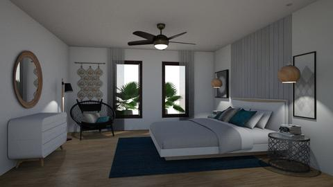 Contemporary bedroom 2 - by maribel