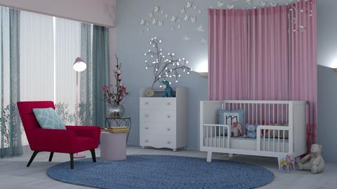 M_ Baby room - Kids room - by milyca8