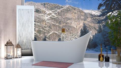bath - Bathroom - by Mayra  Mello