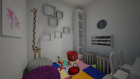 Quarto Brinquedos pequeno - Kids room - by Thiago Araujo