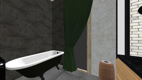 Lazienka - Vintage - Bathroom - by iskrabasia