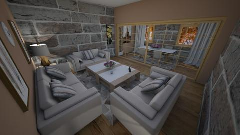 family home 91 - Modern - Living room - by Stavroula Chatzina
