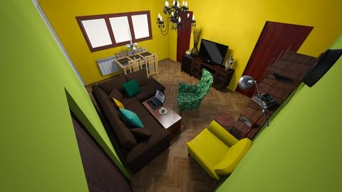 stan 7 - Retro - Living room - by jokojoko