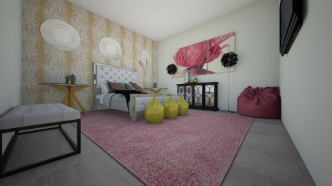 Bedroom - Glamour - Bedroom - by sekena newell