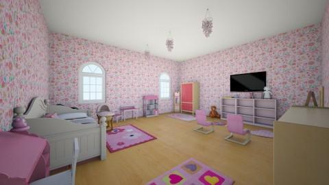 Leonor - Kids room - by simaoana