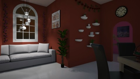 Living room - by Faby_89_