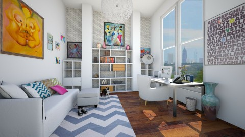 Artsy Girl - Modern - Office - by CreativeCE