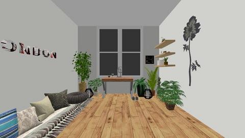 boho office - Rustic - Office - by ktyra
